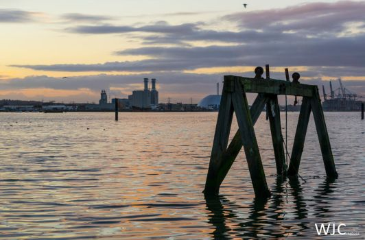 Sunset in Southampton by WilljCreations
