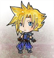 ..Chibi Cloud Strife.. by oliko