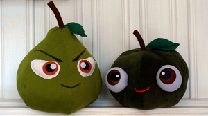 Marco Bodt And Jean Kirschtein Stuffed Fruits by mojs