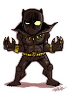 Little : Black Panther by ChickenzPunk