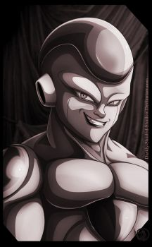 Frieza Portrait by darkly-shaded-shadow