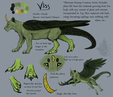 Vliss Reference Commission by animalartist16