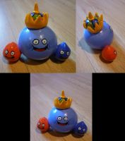 Dragon Quest Slimes Figurine by Jelle-C