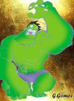 The Incredible Hulk out by g-gomez
