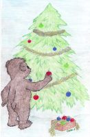 Bear's Christmas by ColeJA