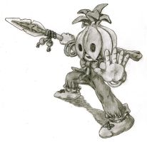 Onion Warrior by minums
