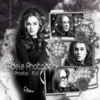 Adele Photopack by onedirectionelif
