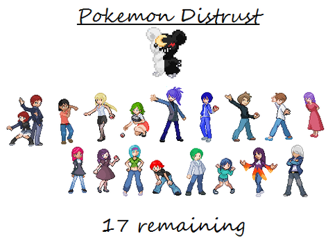 Pokemon Distrust (UPDATED 3/28) by Keiitan