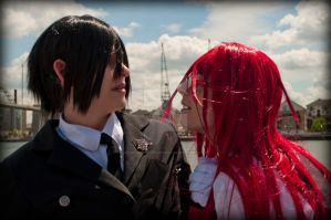 Just One Little Kiss by AkraruPhotography