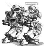 DSI-DA11 Commander Mech by PCRaven