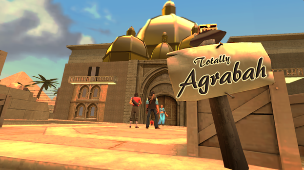 Welcome to Totally Agrabah by UltimateEbil