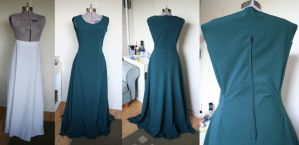 WIP Merida Dress by RainOwls