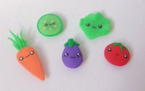 Vegetable magnets by RoOsaTejp