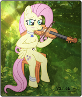 2011-12-15-Fluttershy Viola FIN by Valorcrow