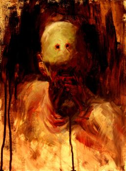 The Pale Man by vee209