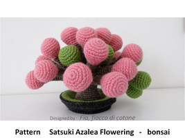 pattern Satsuki Azalea Flowering - bonsai by cottonflake