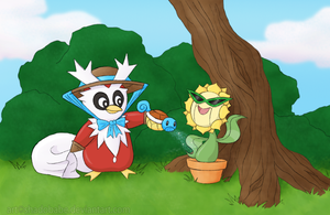 Mascot Contest - Summertime Gardening by ShadOBabe