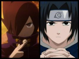 Gen and Sasuke-Look Alike by VictoriaRZepeda