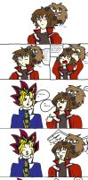 Yugioh GX abridged comic by Krispina-The-Derp