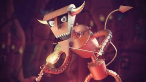 ROBOT DEVIL by Bman2006
