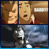 Daddy? Reactions x3 by KorraFarron
