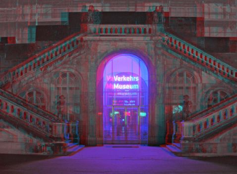 Museum of Traffic Anaglyph 3D by zour