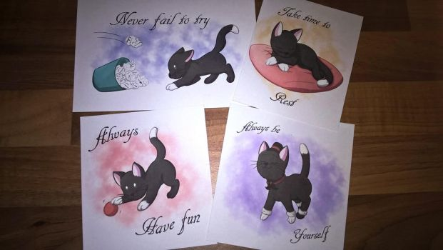 Cat print set! by foxhat94