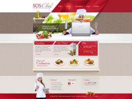 SOS Chef by nfxdesign