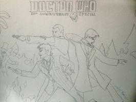 Doctor Who:50th Anniversary by Omnipotrent