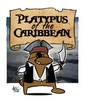 Platypus Of The Caribbean by thetoonguy