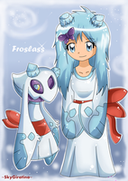 Pokemon Gijinka - Froslass by SkyGiratina00