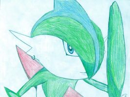 Link the Gallade by Elc54