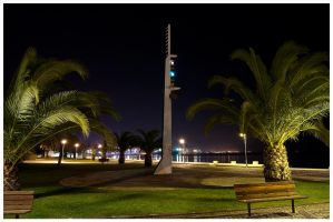 Cold Night in Setubal by dgangj