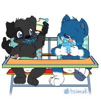 Dubble Highchair Duo by Tavi-Munk