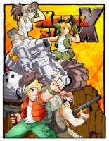 ::Metal Slug X color:: by ThunderEddie