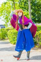 Anna cosplay - Frozen by Childishx