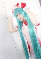 Ichiko as Miku Hatsune - Love Ward by IchikoXares