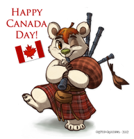 Happy Canada Day! by Cryptid-Creations