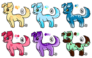 Chibi Puppy Adopts - closed by myheartyoung