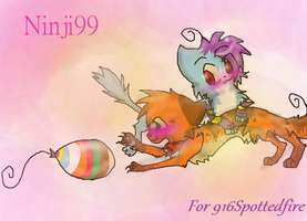 916Spottedfire request by Ninji99