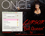 Once Upon a Time | Cursor | Evil Queen by DanceUntilTomorrowJB