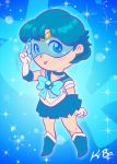 Sailor Mercury by K-Bo by kevinbolk