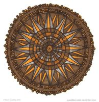 Surface of Love Mandala by Quaddles-Roost