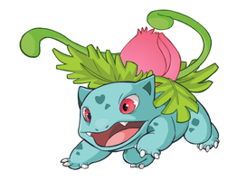 Ivysaur by HappyCrumble