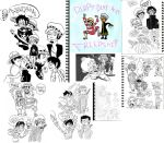 one piece sketchdump by Narorater