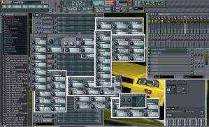 What I see when I make music by Fox-Skyline