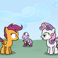 Payback time! by drawponies