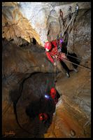 Cave rescue action by joffo1