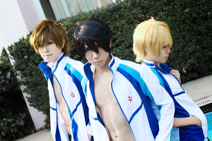 Iwatobi swim club by sh7nn