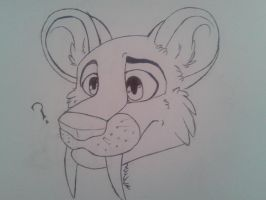 Liko is a lion...? by IndiTheWolfy
